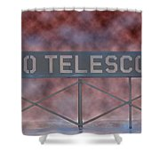 La Griffith Observatory To Telescope Shower Curtain
