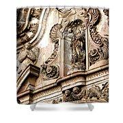 La Iglesia De La Compania  Quito Ecuador Shower Curtain