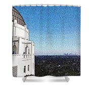LA Shower Curtain