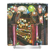 La Lampareria Albacin Granada Shower Curtain