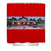 La Lechonera Restaurant Key West Florida Shower Curtain