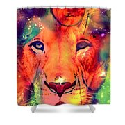 La Lionne Shower Curtain