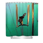 La Loupiote Shower Curtain
