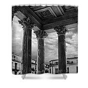 La Maison Caree.nimes.france Shower Curtain