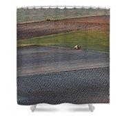 La Mancha Landscape - Spain Series-siete Shower Curtain