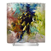 La Palette Enchantee Shower Curtain