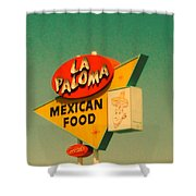 La Paloma Shower Curtain