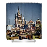 La Parroquia Shower Curtain