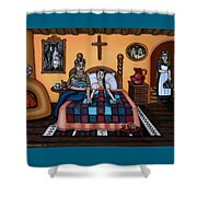 La Partera Or The Midwife Shower Curtain