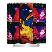 La Passion De L'art Shower Curtain