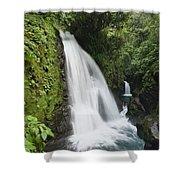 La Paz Waterfalls In Rainforest Costa Shower Curtain