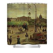 La Place De La Concorde Shower Curtain
