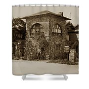La Playa Carmel And Located At Camino Real At Eighth Ave. Circa  1925 Shower Curtain