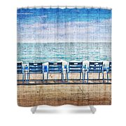 La Promenade Des Anglais Shower Curtain