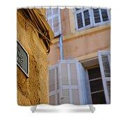 La Provence Windows Shower Curtain