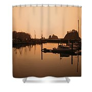 La Push In The Afternoon Shower Curtain