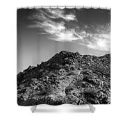 La Quinta Early Morning Shower Curtain