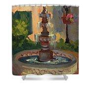 La Quinta Resort Fountain Shower Curtain