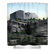 La Rocca De Monte Calvo Shower Curtain