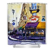 La Rotonde Des Tuileries Shower Curtain