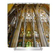 La Sagrada Familia Iv Shower Curtain