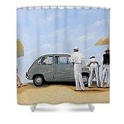 La Seicento Shower Curtain