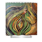 La Semilla - The Seed Shower Curtain