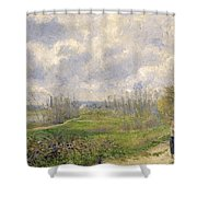 La Sente Du Chou Near Pontoise Shower Curtain