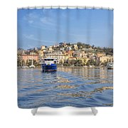 La Spezia Shower Curtain
