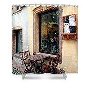 La Tinta Cafe Shower Curtain