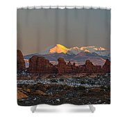 La Turret Shower Curtain