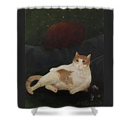 La Vie Grande Shower Curtain