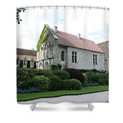 L'abbaye De Fontenay Shower Curtain