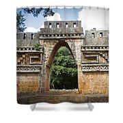 Labna Maya Arch Shower Curtain