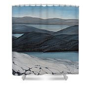 Labrador The Big Land Shower Curtain