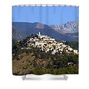 Labro, Lazio, Italy Shower Curtain