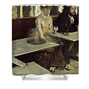 L'absinthe Shower Curtain