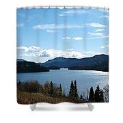 Lac Des Roches Shower Curtain