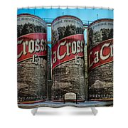 Lacrosse Lager Shower Curtain
