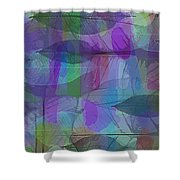 Lacy Leaves Shower Curtain