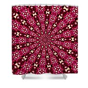 Lacy Orchid Kaleidoscope Shower Curtain