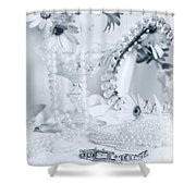 Ladies Dressing Table Shower Curtain