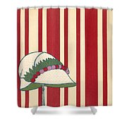 Ladies Hat, From Les Robes De Paul Shower Curtain