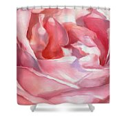 Ladies Only - Abstract Bathing  Shower Curtain