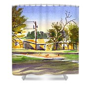 Ladies Tee Shower Curtain
