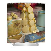 Laduree Macarons Shower Curtain