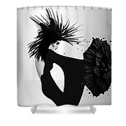 Lady D 2 Shower Curtain
