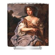 Lady Essex Finch, Later Countess Shower Curtain