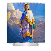 Lady Freedom Shower Curtain