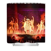 Paws Up Shower Curtain